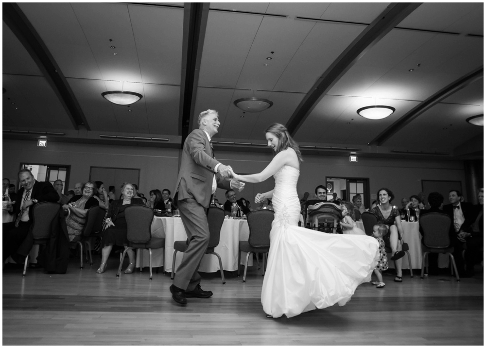 father daughter dance at wedding reception