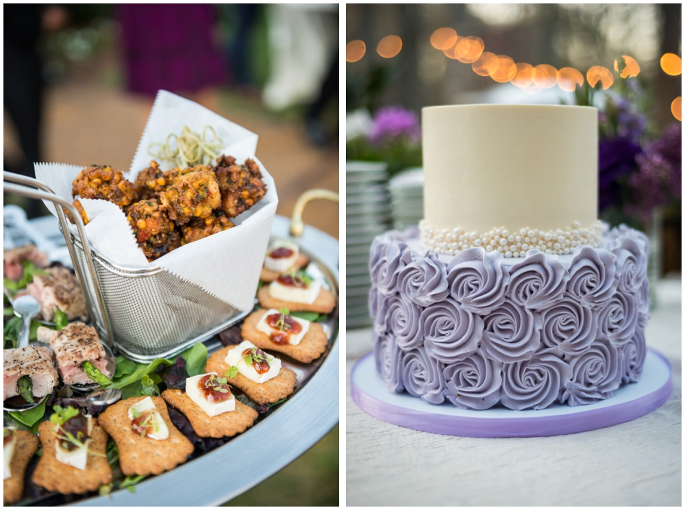 cake and Hors D'oeuvre