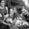 bride with bridesmaids, DC Wedding Photography