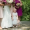 flower girl with bridesmaids, DC Wedding Photography