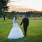 bride and groom at sunset, DC Wedding Photography