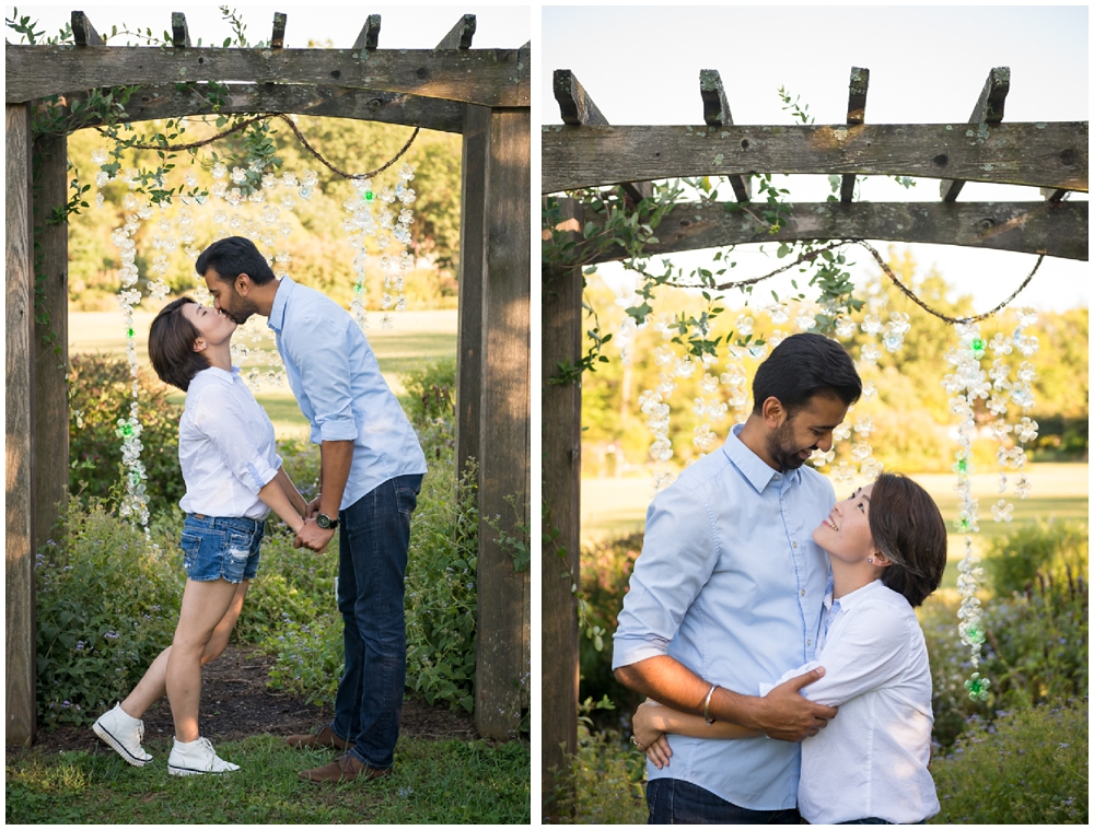 Green spring gardens virginia engagement session naman for Green spring gardens wedding