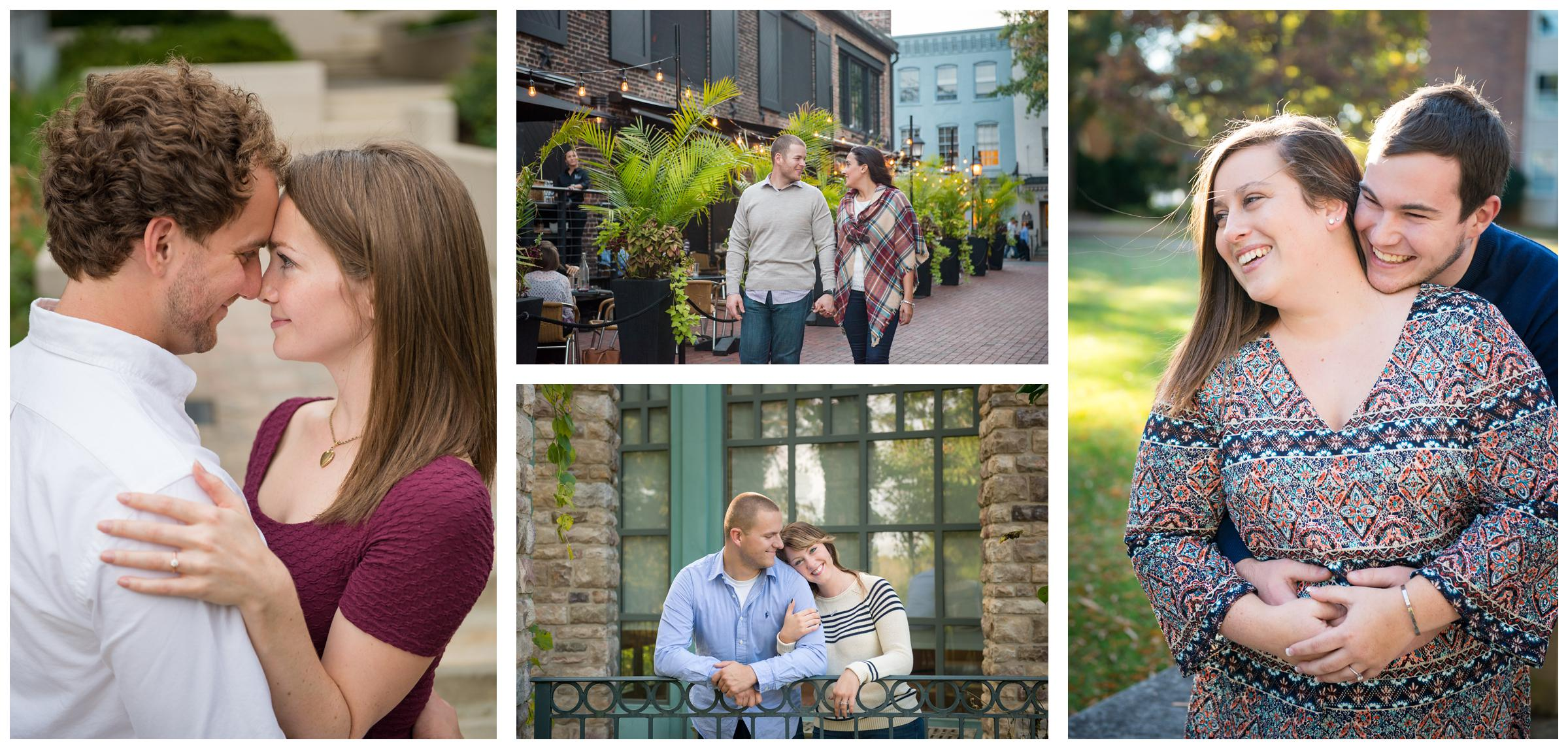 engagement sessions in northern Virginia