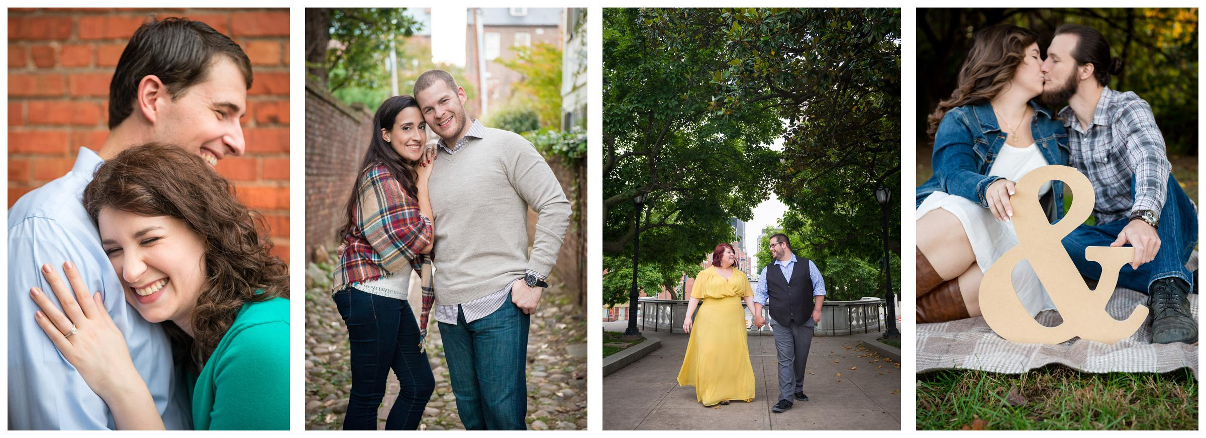engagement photos in Virginia and Maryland