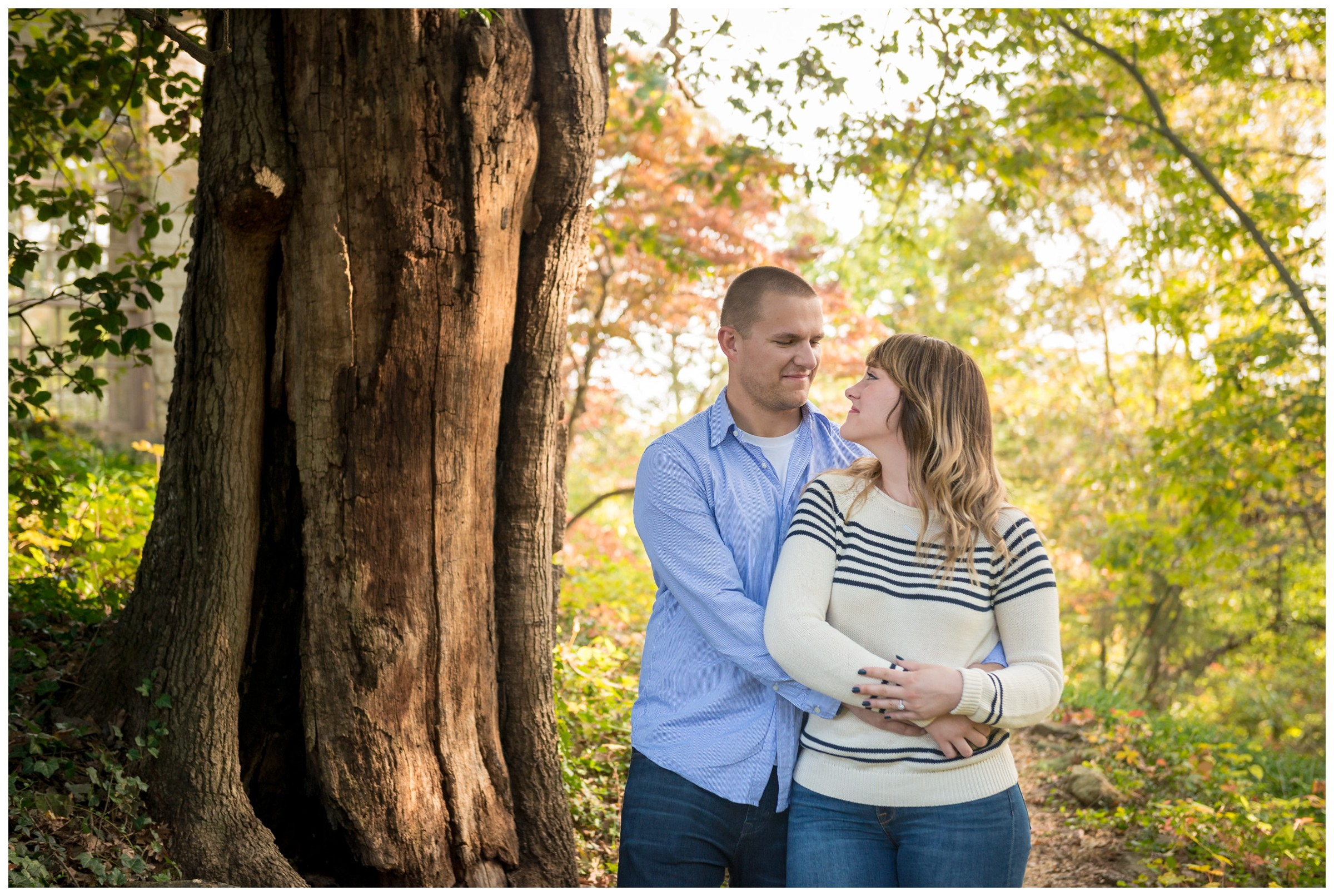 northern Virginia engagement photography at Belmont in Fredericksburg