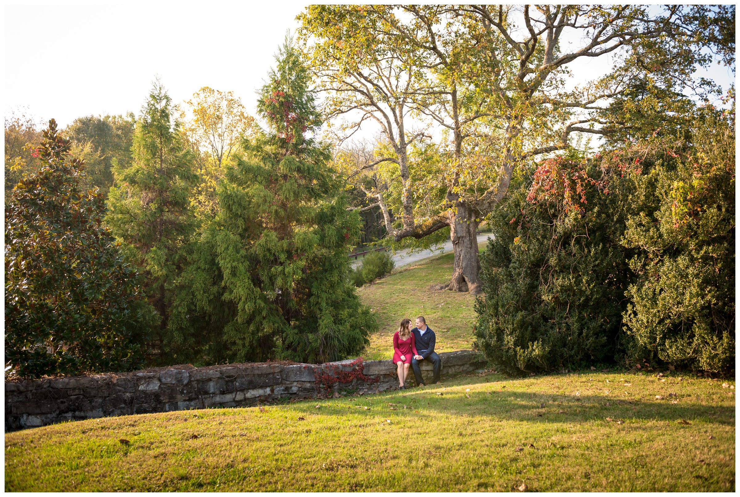 fall engagement photography at Gari Melchers Belmont in Fredericksburg, Virginia