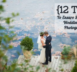 wedding day photography timeline tips