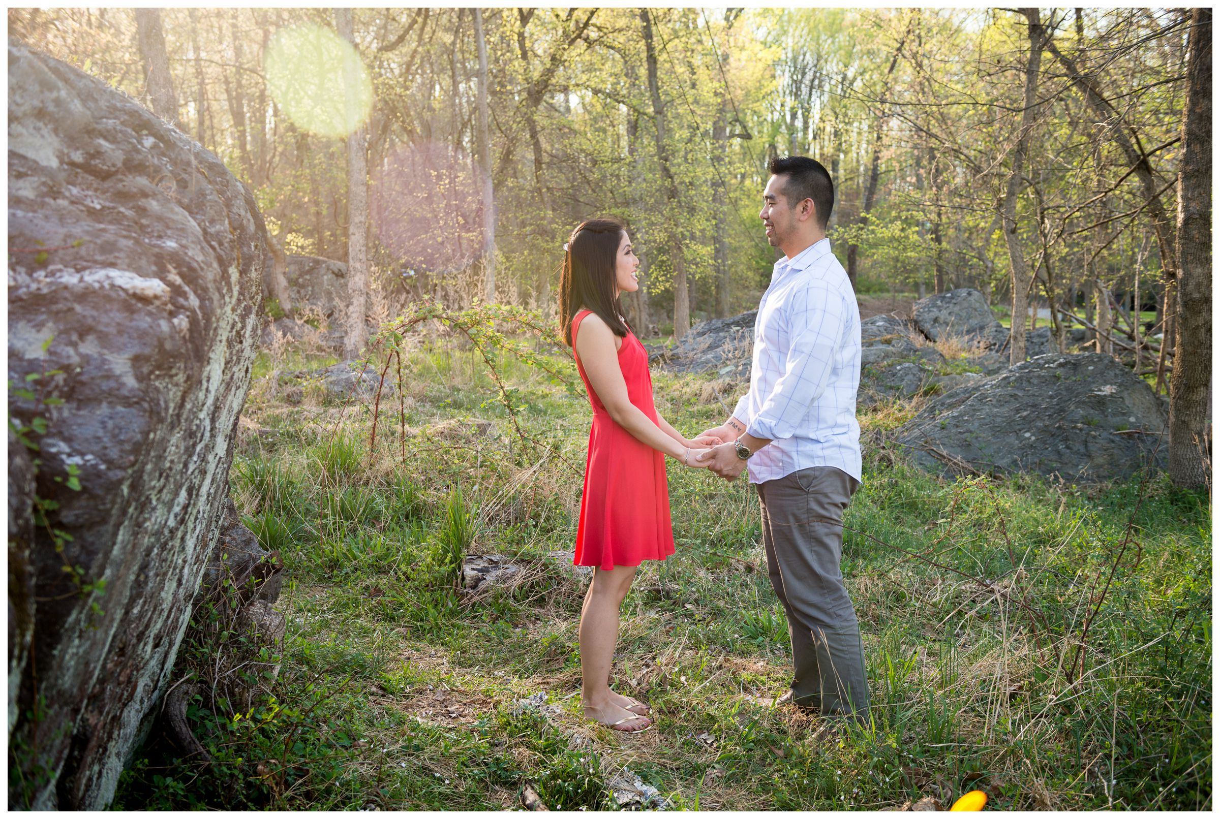 great falls engagement photos in Virginia