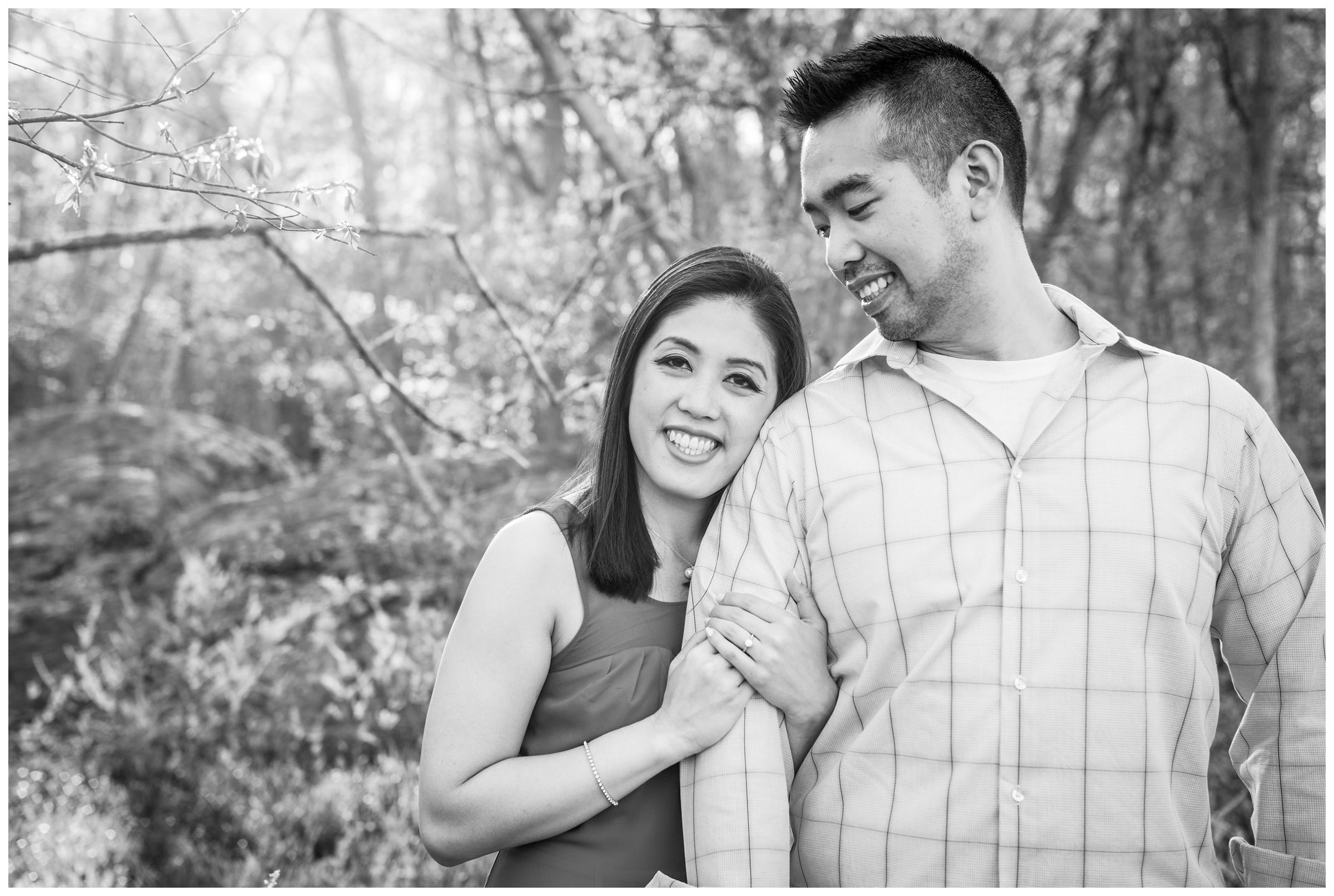 Great Falls engagement session in Northern Virginia