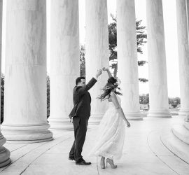 dc monument wedding photographer jefferson memorial