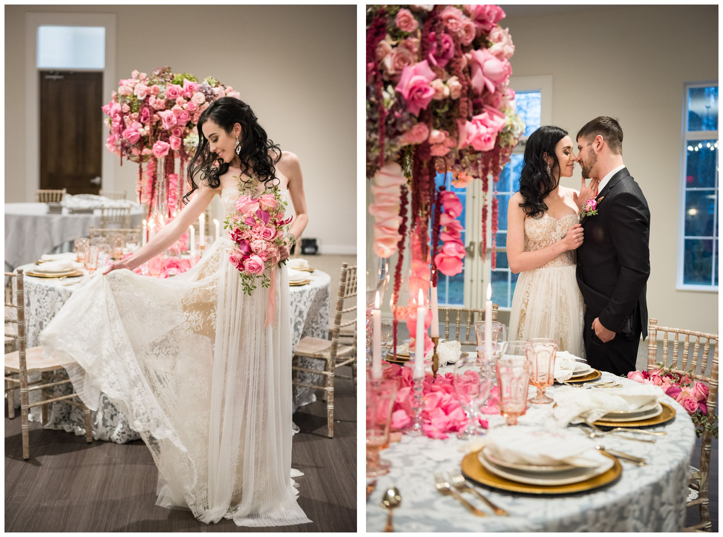 styled wedding shoot at The Estate at New Albany near Columbus Ohio