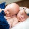 central ohio twin newborn photography