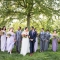 diverse co-ed mixed gender wedding party at Jorgensen Farms in Columbus