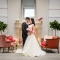 bride and groom at Estate at New Albany wedding in central Ohio