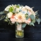 bright colorful wedding bouquet photography in Ohio